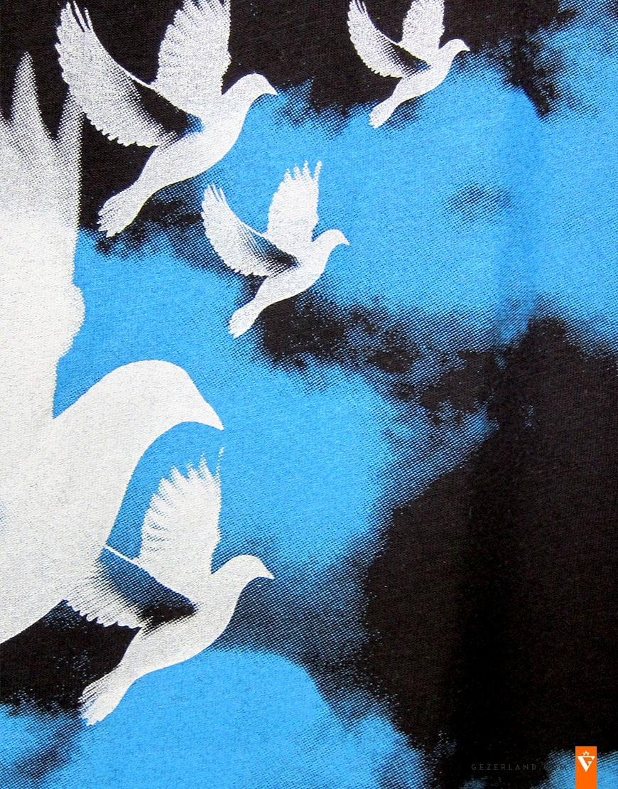 T-shirt Jerusalem Doves