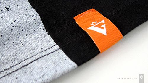 Israeli t-shirt with Wholesale textile label