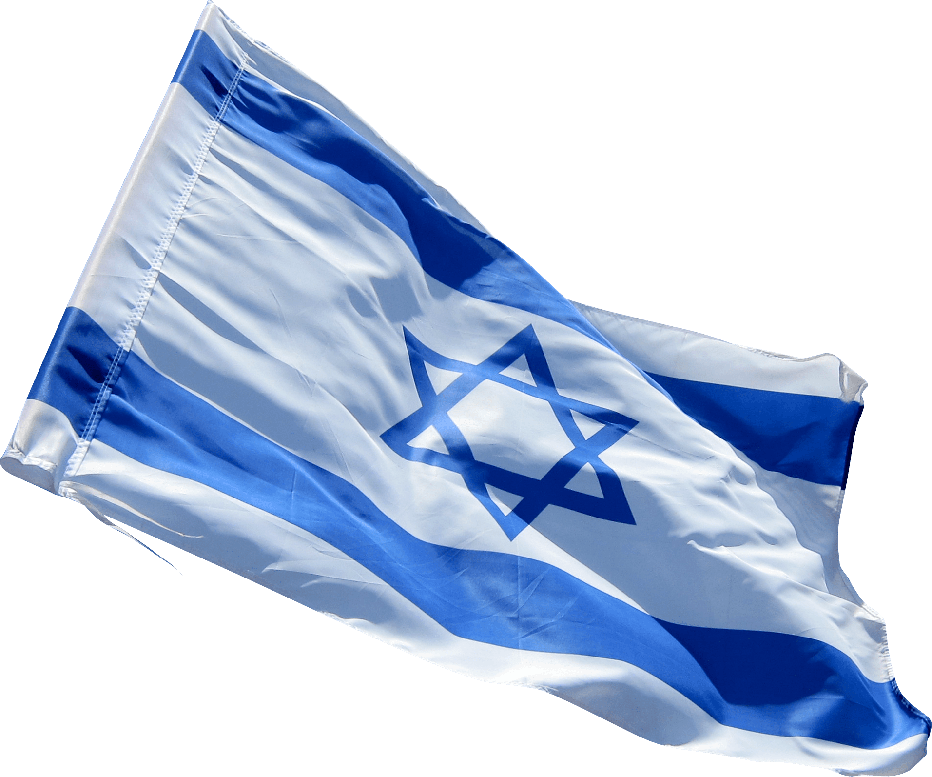 High quality Flag of Israel Transparent Free Image